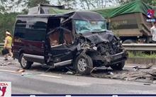 8 người bị thương sau vụ tai nạn nghiêm trọng