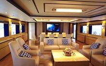 Chiêm ngưỡng siêu du thuyền 26,4 triệu USD được ví là biệt thự trên biển