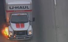 Video kẻ trộm xe ngoan cố bỏ chạy suốt 2 tiếng, chỉ dừng lại khi cháy lốp