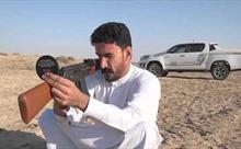 Xem thiện xạ Iraq soi gương bắn trúng mục tiêu sau lưng
