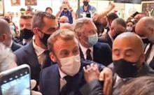 Đi giữa đám đông, Tổng thống Pháp bị ném vật thể vào người