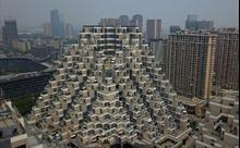 Độc đáo chung cư 'kim tự tháp' tại Trung Quốc