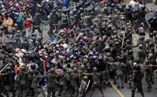 Dòng người di cư đổ về biên giới Mỹ trước ngày ông Biden nhậm chức