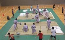 Độc đáo môn thể thao ném gối nổi tiếng ở Nhật Bản
