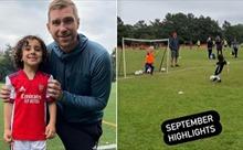 Arsenal thu nạp thần đồng 5 tuổi được mệnh danh là 'Messi nhí'