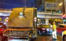 Hà Nội ra quân xử phạt xe rác vi phạm vệ sinh môi trường