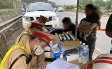 Phát hiện 4 lái xe dương tính với ma túy và nồng độ cồn trên cao tốc Hà Nội – Thái Nguyên