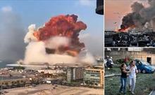 Video toàn cảnh vụ nổ khiến gần 4.000 người thương vong ở Liban