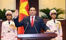 Thủ tướng Chính phủ Phạm Minh Chính tuyên thệ nhậm chức