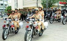 Công an TP Hồ Chí Minh ra quân mở đợt cao điểm đảm bảo an ninh trật tự