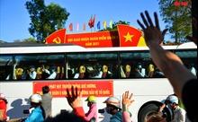 Rắn rỏi thanh niên TP Hồ Chí Minh ngày lên đường nhập ngũ