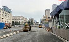 Khẩn trương tái lập mặt bằng đường Lê Lợi (TP Hồ Chí Minh) trước ngày 30/4
