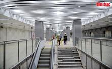 Ngắm không gian hiện đại của nhà ga ngầm Ba Son tuyến metro Bến Thành – Suối Tiên