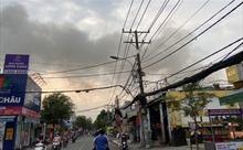 Cháy lớn phim trường ở Quận 12, TP Hồ Chí Minh