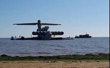 'Quái vật Caspi' từ thời Liên Xô trở thành điểm nhấn công viên quân sự