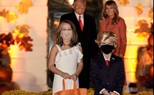 Lễ Halloween mùa COVID tại Nhà Trắng