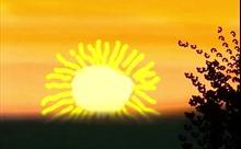 Bức tranh Mặt Trời mọc thắp hy vọng trong đại dịch COVID-19