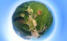 Toàn cảnh Đảo Trần- đảo tiền tiên vùng Đông Bắc của Tổ quốc