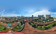 Ảnh 360: Khu tập thể 50 năm tuổi tại phường Nguyễn Trãi (Hà Đông, Hà Nội) đang chờ sập
