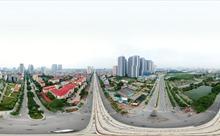 Ảnh 360: Dự án tuyến Metro Nhổn-Ga Hà Nội
