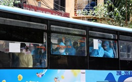 Hà Nội đón 286 công dân từ Bắc Giang trở về