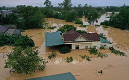 Lũ đặc biệt lớn trên các sông gây ngập diện rộng ở Quảng Trị