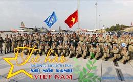Tự hào những người lính 'Mũ nồi xanh' Việt Nam