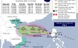 Bão số 8 cách quần đảo Hoàng Sa khoảng 440km