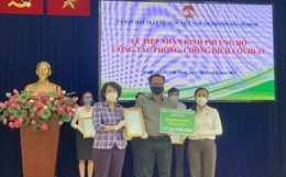 TP Hồ Chí Minh tiếp nhận đăng ký ủng hộ hơn 21 tỷ đồng phòng, chống dịch COVID-19