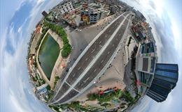 Đường Vành đai 2 trên cao của Hà Nội trị giá 9.400 tỷ đồng lộ diện sau 2 năm thi công
