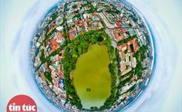 Hồ Hoàn Kiếm trong những ngày chống dịch COVID-19