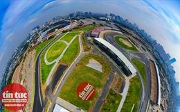 Toàn cảnh 'đại công trường đường đua F1' ở Việt Nam