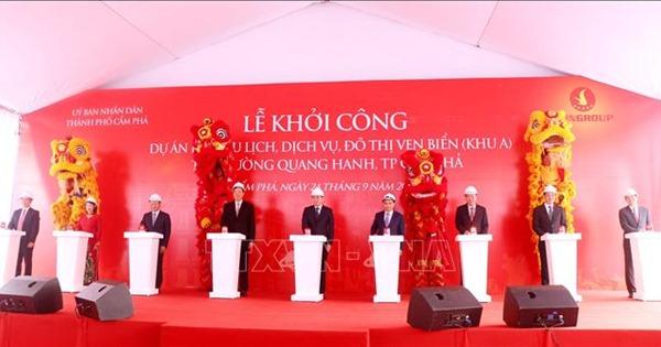 Quảng Ninh khởi công xây dựng khu du lịch ven biển gần 3.000 tỷ đồng
