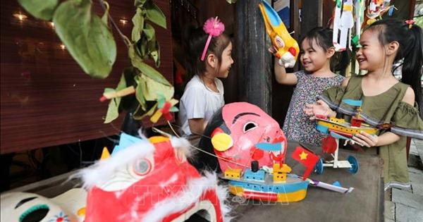 Vui Tết Trung thu cổ truyền tại Bảo tàng Dân tộc học Việt Nam