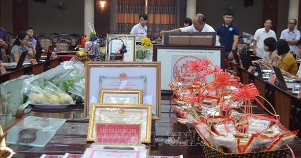 Thị xã Sơn Tây đưa 29 sản phẩm tham gia đánh giá, phân hạng OCOP