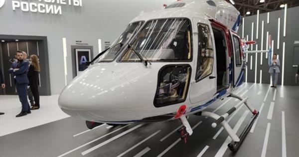 Triển lãm trực thăng quốc tế HeliRussia-2020 tại Moskva
