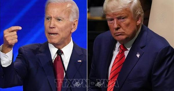 Ông Biden vượt Tổng thống Donald Trump trong hầu hết 40.000 cuộc bầu cử mô phỏng