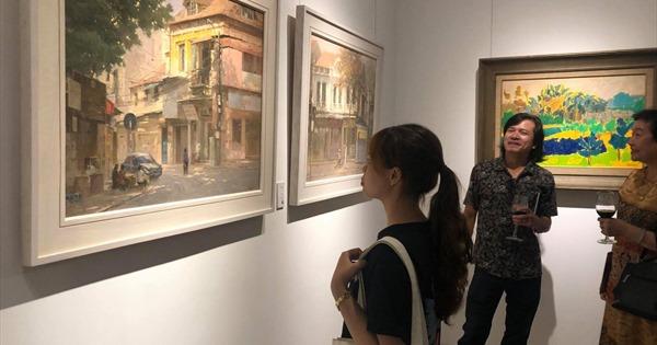 Khai mạc triển lãm 'Thiên nhiên ở giữa' của nhóm Họa sỹ Lưu Động - xổ số ngày 07122019