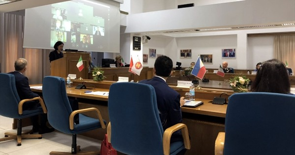 Tăng cường phối hợp triển khai Kế hoạch hành động quan hệ đối tác phát triển Italy - ASEAN