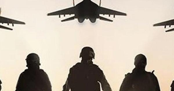 Quảng cáo ủng hộ quân đội Mỹ nhưng dùng ảnh chiến đấu cơ Nga