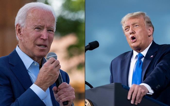 Bầu cử Mỹ: Hai ứng cử viên Donald Trump và Joe Biden bắt đầu cuộc tranh luận trực tiếp đầu tiên