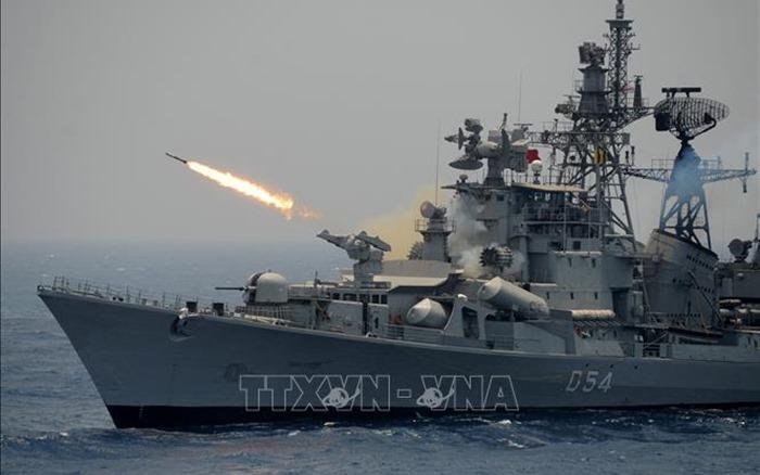 Hải quân Ấn Độ, Bangladesh tập trận chung